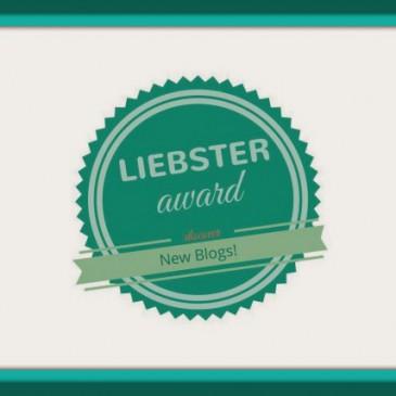 Nominiert für den Liebster-Award!